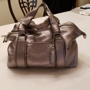 Cole Haan Pewter leather bag